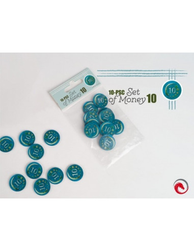 10-Piece Set of Money 10
