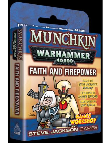 Munchkin Warhammer 40,000: Faith and Firepower