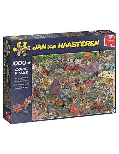 De Bloemencorso - Jan van Haasteren (1000pcs)