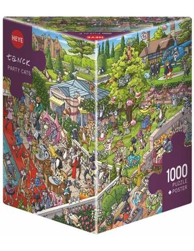 Puzzel - Party Cats (1000pcs)