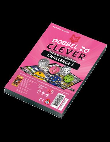 Dobbel zo Clever Challenge Scoreblok (2 stuks)