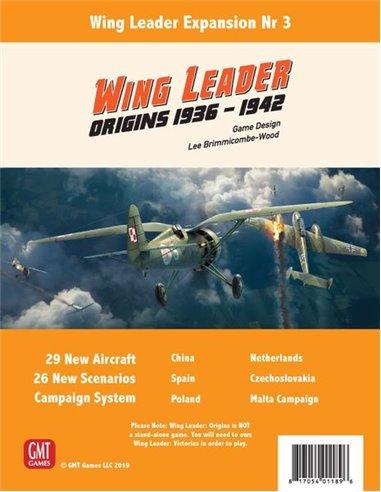 Wing Leader: Origins 1936-1942