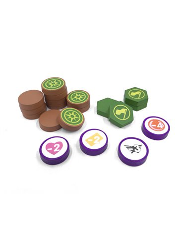 Scythe Encounter and Expansion Tokens (20 pcs)