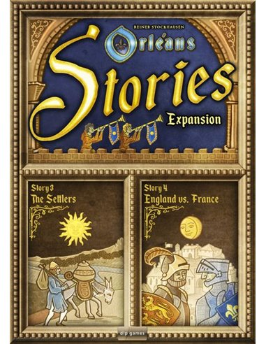 Orleans Stories Expansion: Stories 3 & 4