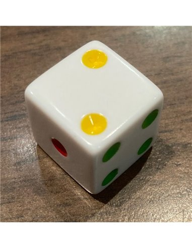 16MM Rainbow Spotted Dice