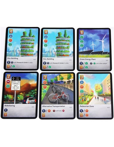 The City: Eco-City Pack (6 cards)