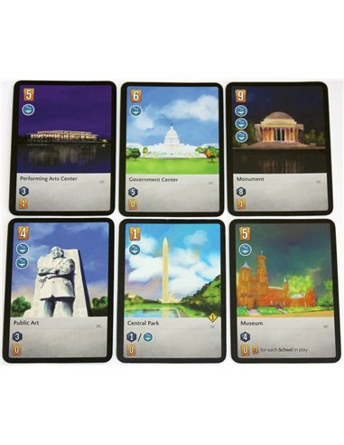 The City: Iconic City Pack (18 cards)