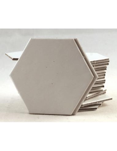 Hexagon 22mm blanco