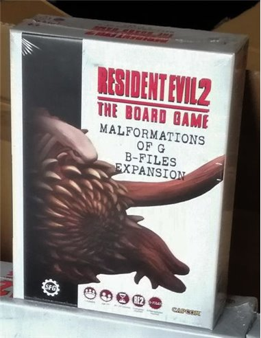 Resident Evil 2: The Board Game – Malformations of G B-Files