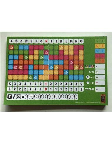 Keer op Keer Score Block (Groen)