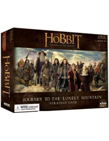 The Hobbit Journey to the Lonely Mountain Strategy Game