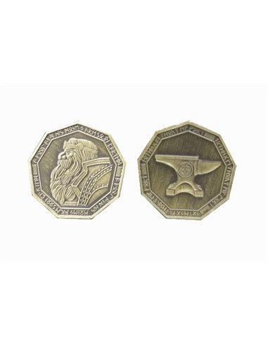 Fantasy Coins - Dwarven Gold (10 stuks)